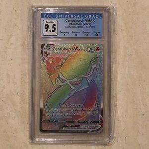 Centiskorch Pokémon Vmax 191/189 CGC 9.5 2020